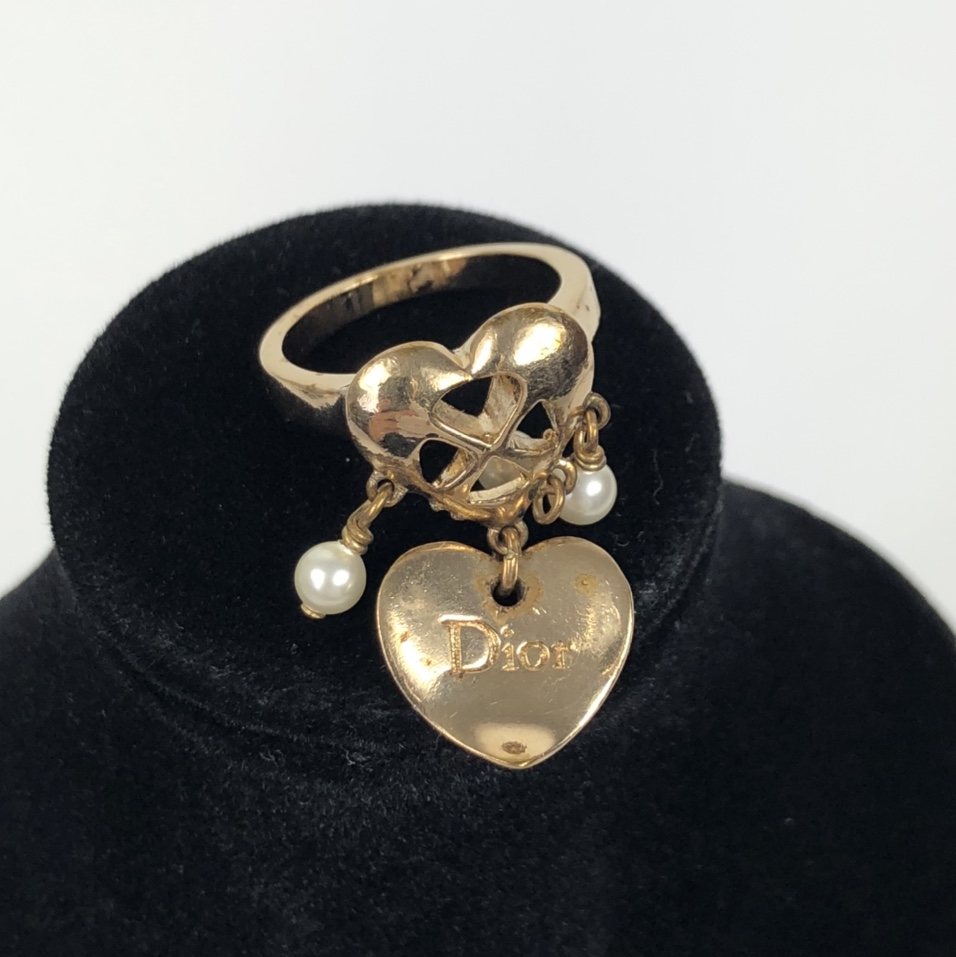 Product Image 1 - Dior heart ring size 7  Marks/scratches