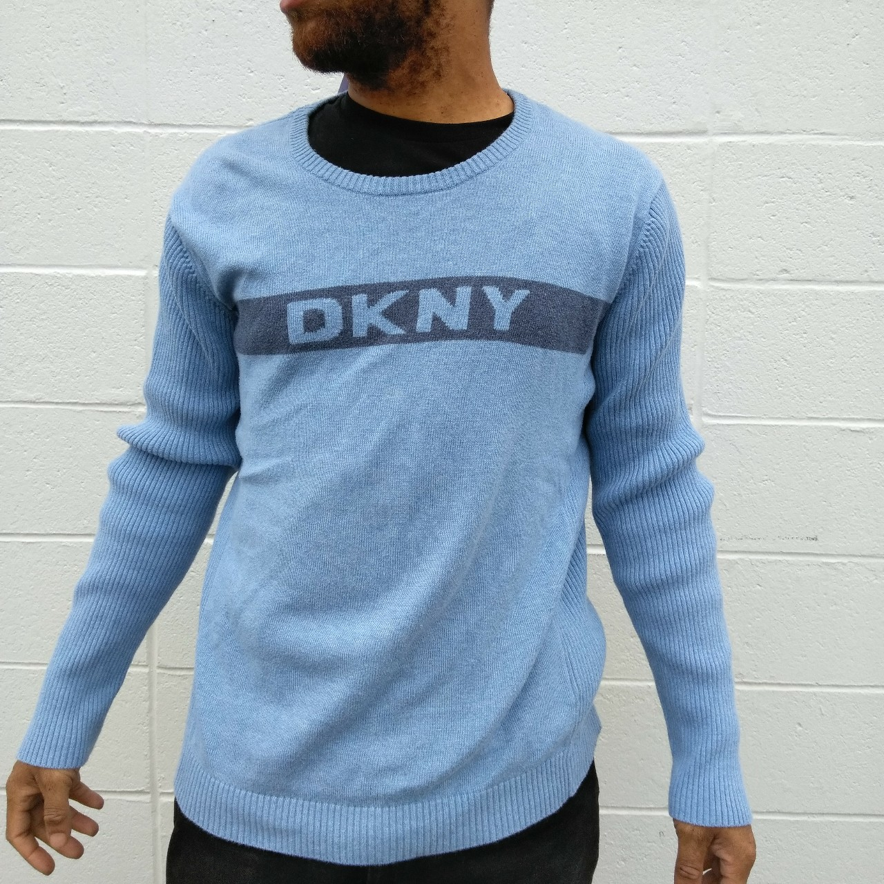 Product Image 1 - DKNY spell out sweater men's
