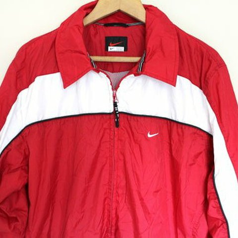 info for 479c5 429e7 90 s NIKE Windbreaker, Red White- 0