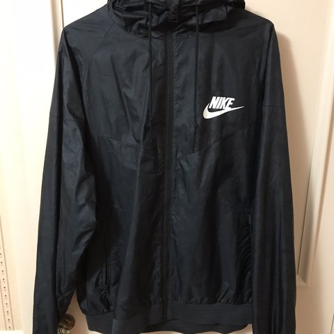 00a3b9d4f @natej20. 16 days ago. United States. This is a black vintage Nike  windbreaker. Zip up jacket ...