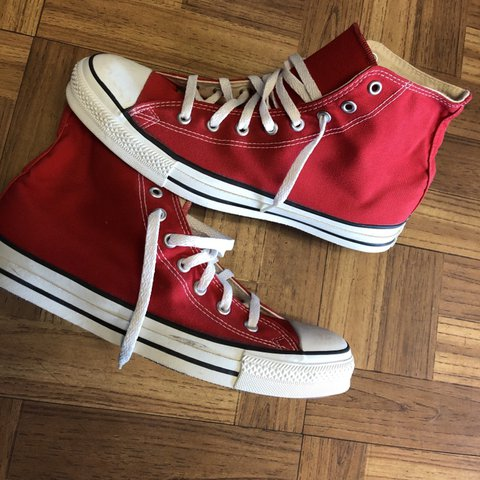 584b51e27fa0 Vintage 80s / 90s Converse Made in The USA Really good shoe - Depop;