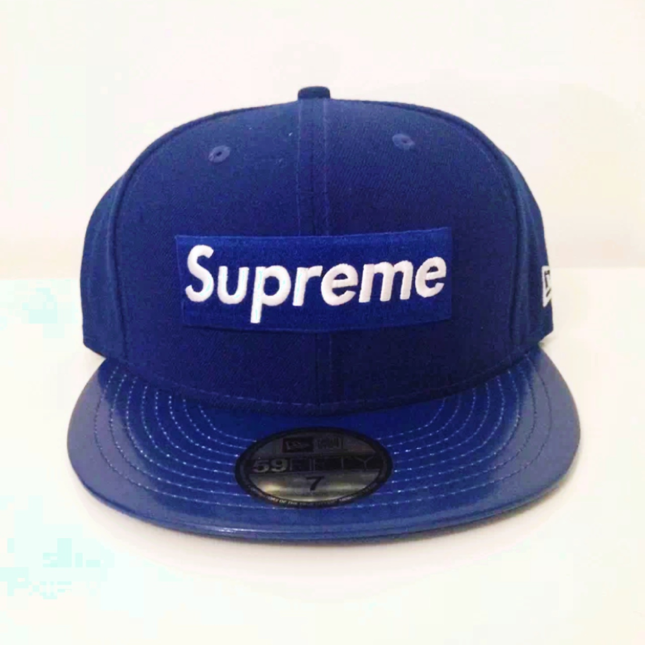 supreme baseball cap trucker hat royal creps locker