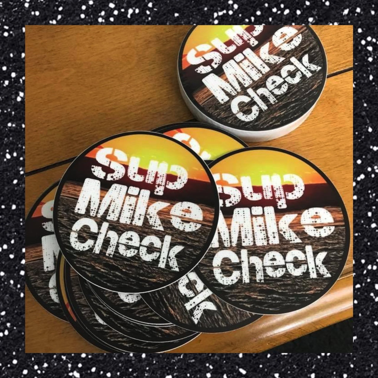 Product Image 1 - SUPMIKECHECK MERCH: Supmikecheck stickers! 5 for