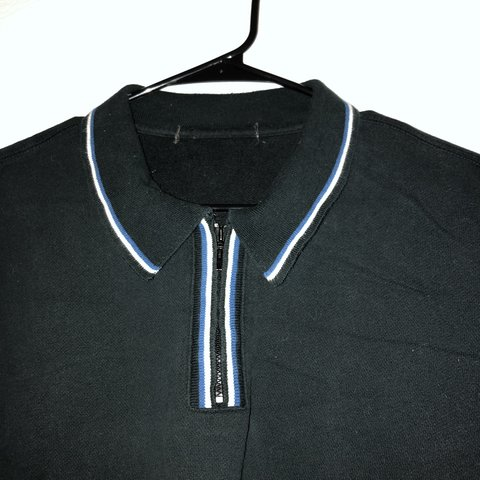 194f1c94 @justinjp. 2 days ago. New York, United States. Men's vintage zip up polo  shirt blue / white / black 90s 2000s