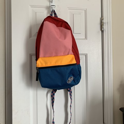 a704c5a751f @jaylaanxo. 6 days ago. Byram, United States. Vans multicolored backpack.