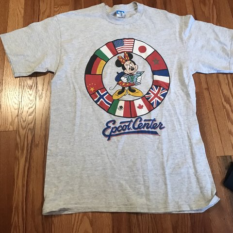 cf2937ac 80s Walt Disney World Epcot Center vintage t-shirt original - Depop