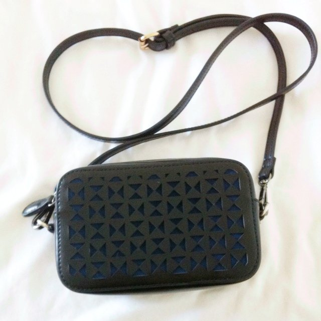 14739333d5ed Small Black Bag With Long Straps | Stanford Center for Opportunity ...