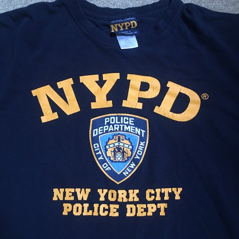288f1f055 90s Vintage Officially Licensed NYPD (New York City Police T - Depop