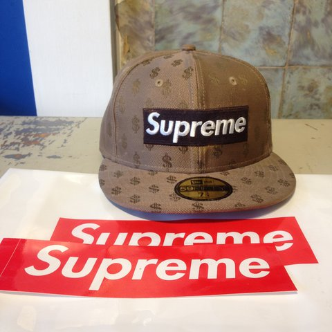 ae4a2729 @frankheathfield. in 11 hours. Hove, United Kingdom. Supreme X New Era  Monogram Box Logo 59Fifty Cap!!