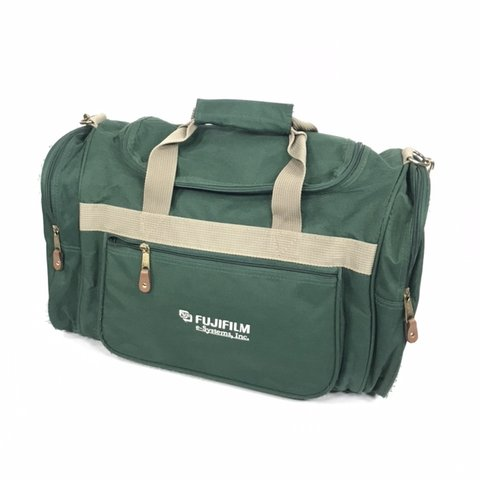 7c1820346 @internet_tears. last month. Rochester, United States. Vintage 90s fujifilm duffel  bag. Green