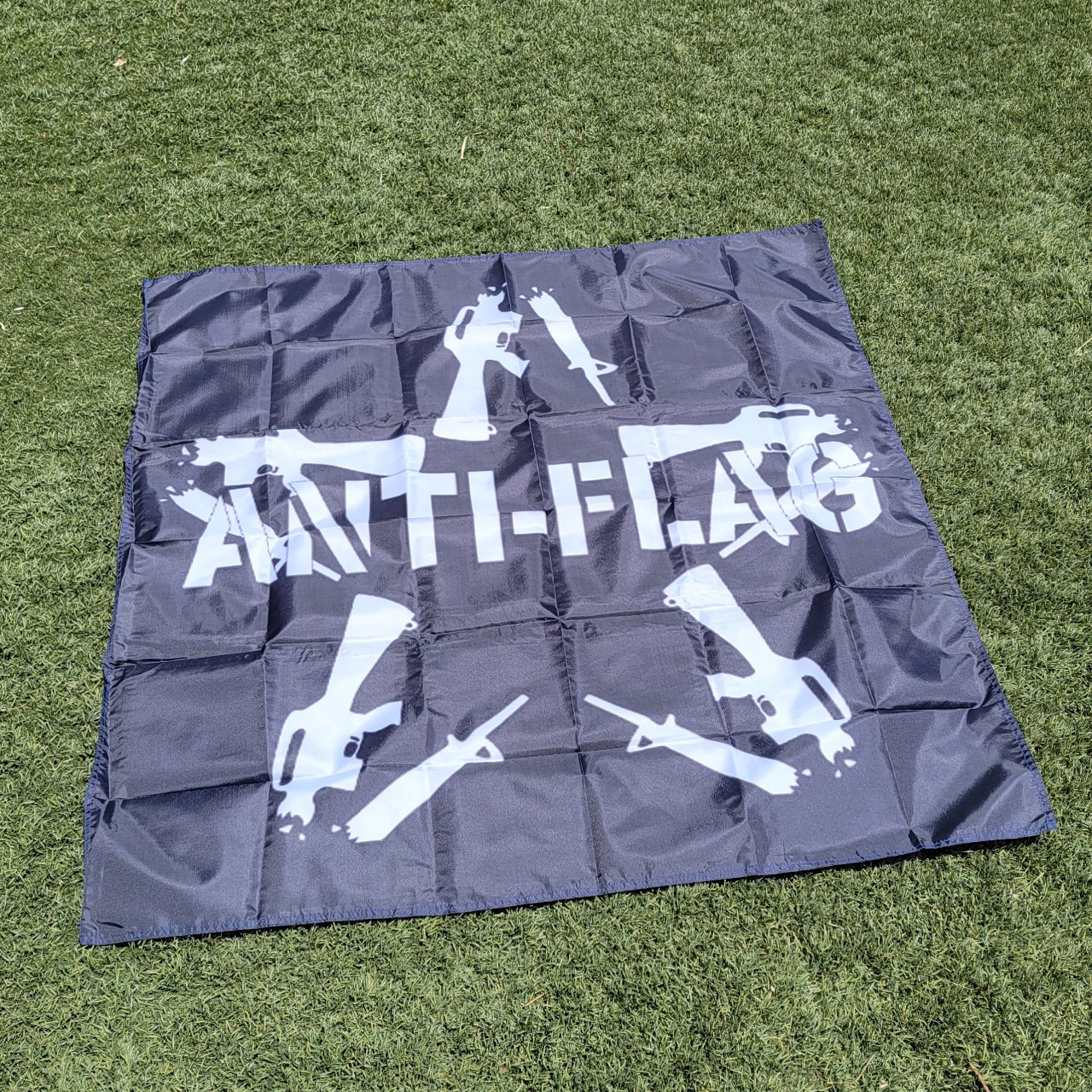 Product Image 1 - Anti-Flag Flag  Size - 4X4 Feet Condition