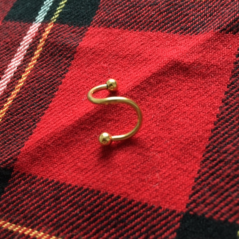 Product Image 1 - Yellow Twist Piercing  Gauge - 16g Condition