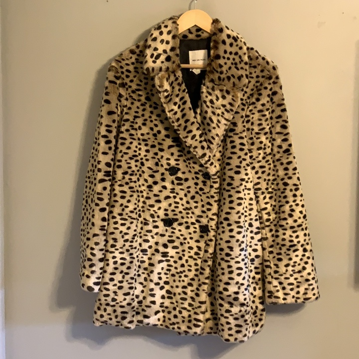 Product Image 1 - Faux fur leopard double breasted