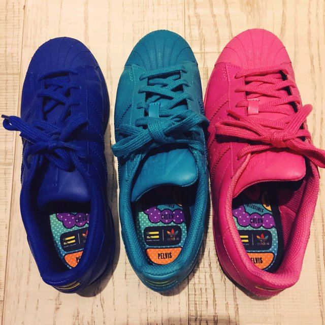 adidas superstar supercolor fucsia