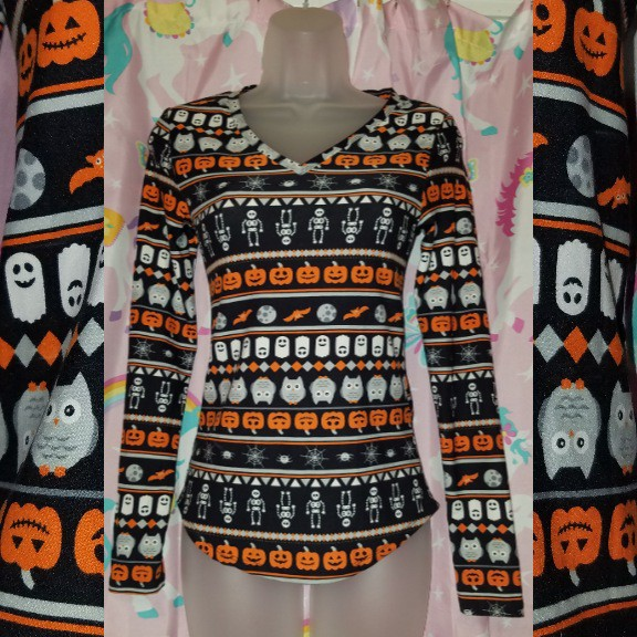 Product Image 1 - Longsleeve Spoopy Halloween Top  This super
