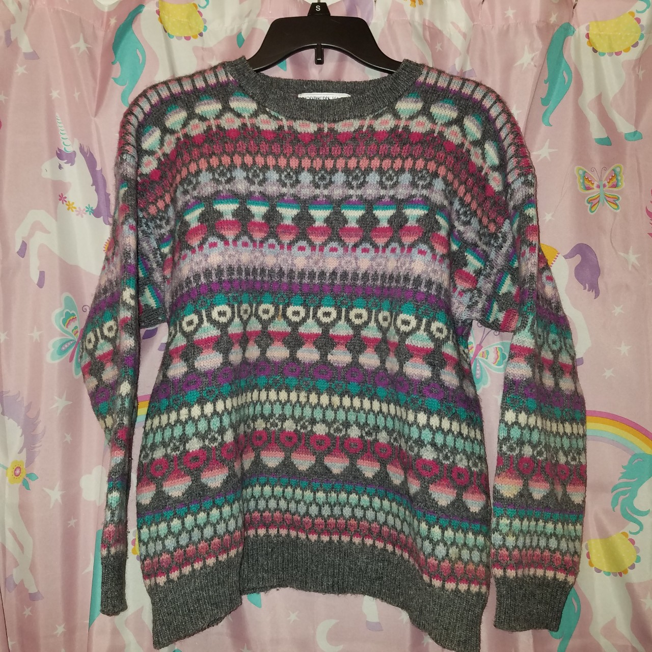 Product Image 1 - 80s Pastel Holiday Sweater  Im not