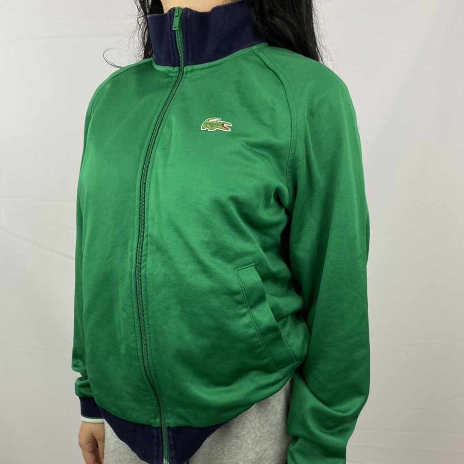 Product Image 1 - Lacoste Zip Up Green Track