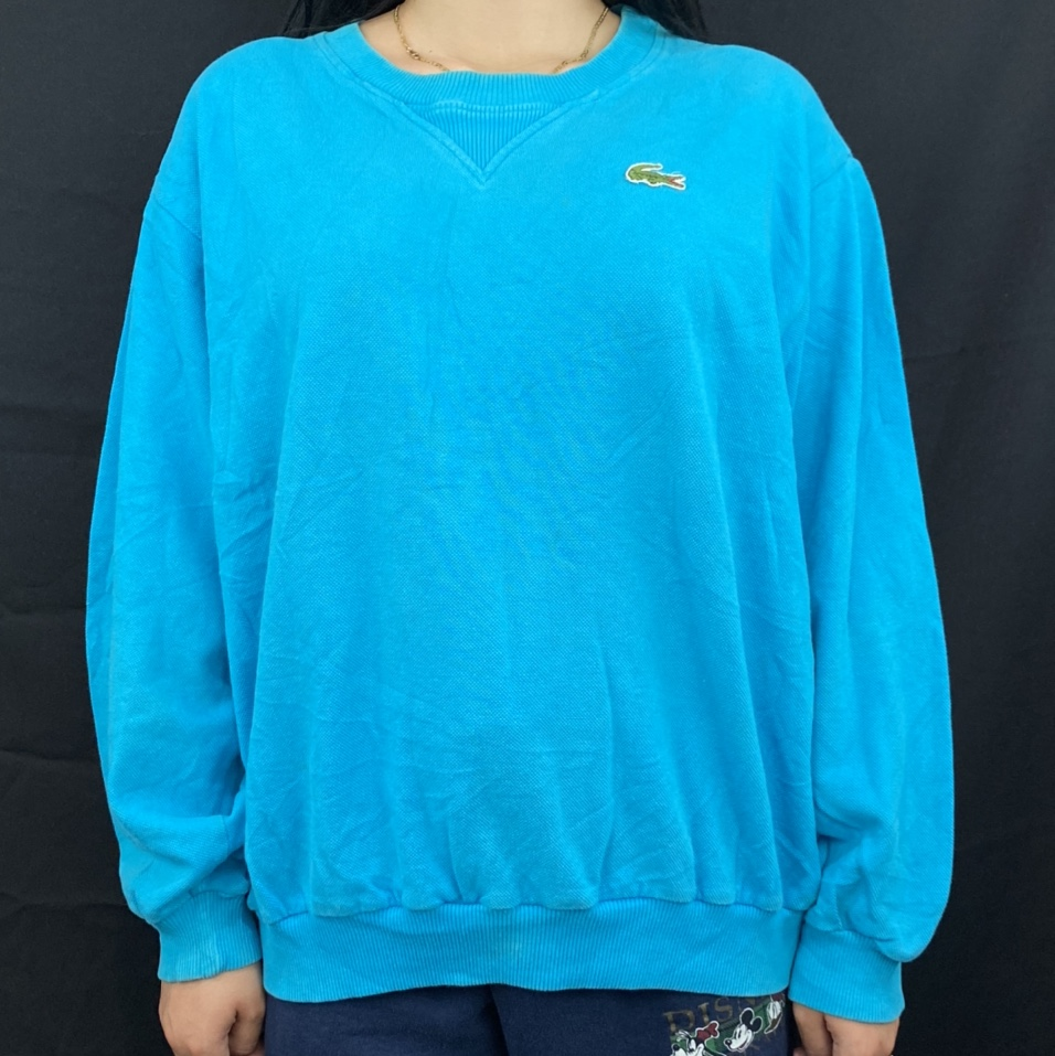 Product Image 1 - Vintage 80's Lacoste Teal Blue