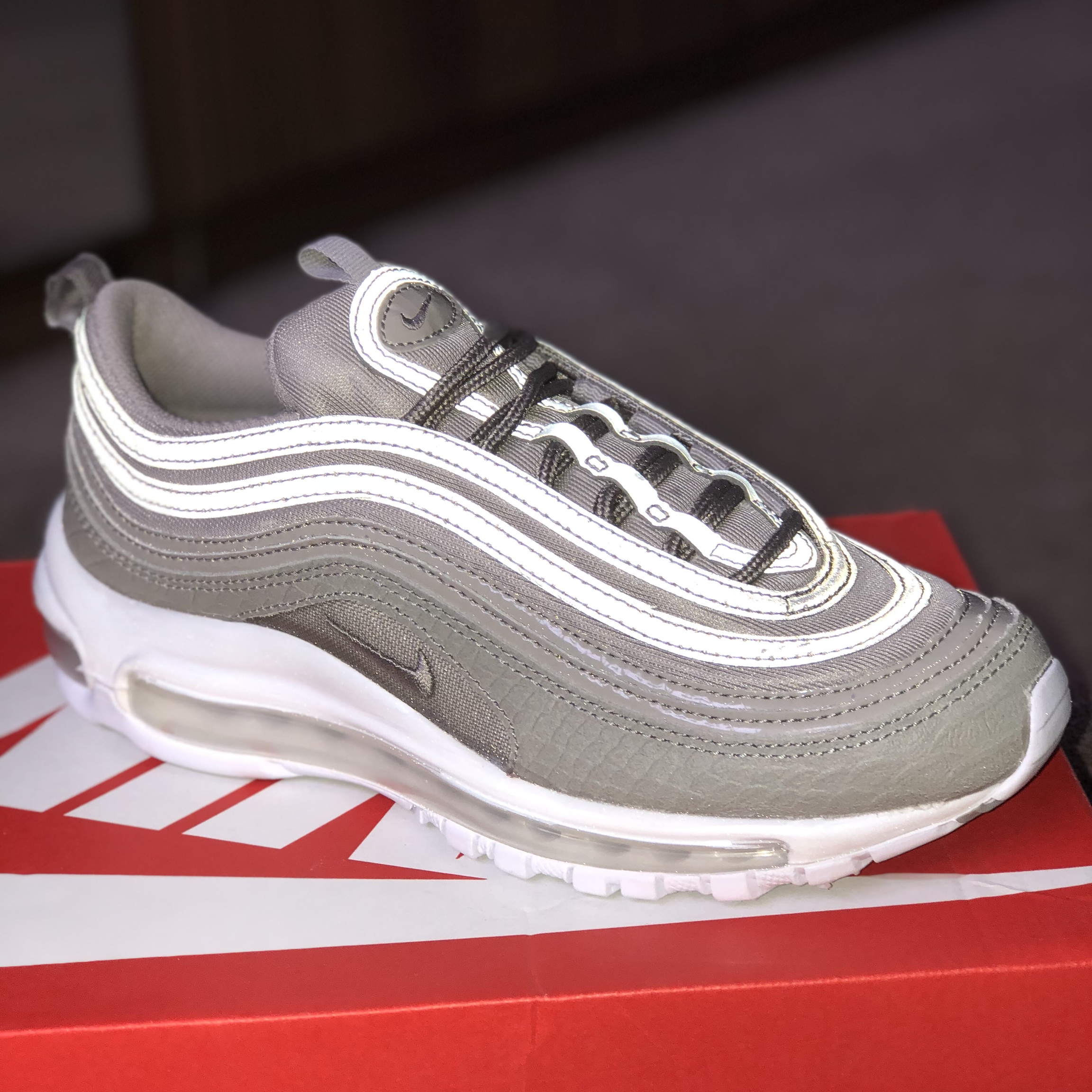 RESERVED H/O - £150 Brand new nike Air max 97 in... - Depop