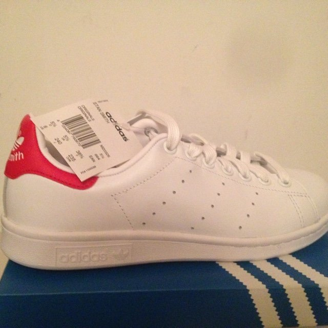 adidas stan smith bianche rosse