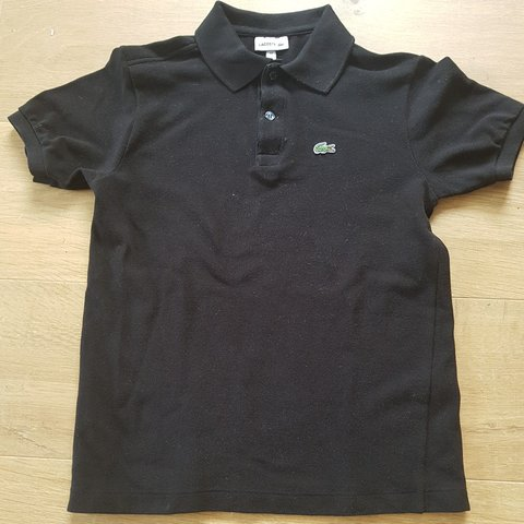 e8fd641afa @isaacvallet. 27 days ago. Hampshire, United Kingdom. Lacoste black polo.  Never been worn before