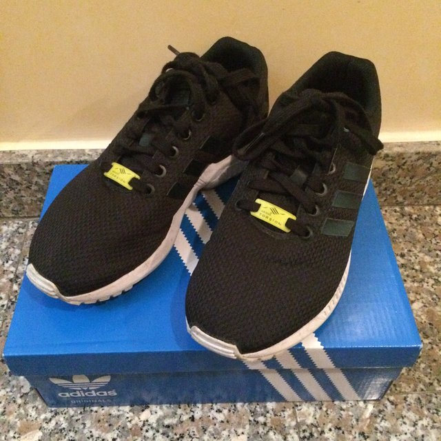 adidas zx flux nere e gialle