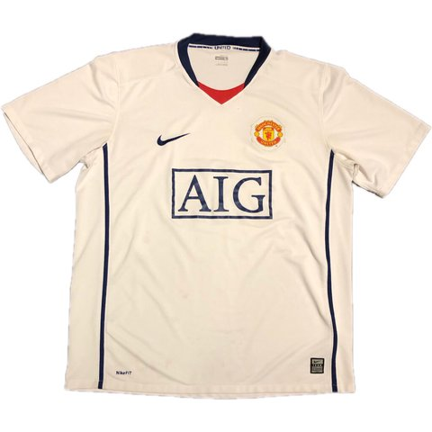 4015a9424 @pfrvintage. 21 hours ago. Corona, United States. Nike AIG Manchester  United Soccer Jersey