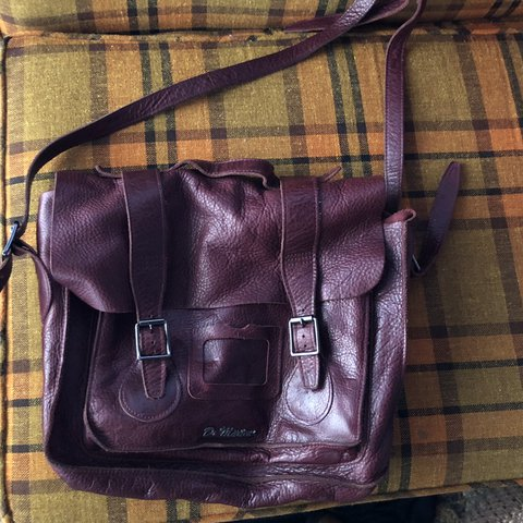 4cbd3fce2fe @calistashell. 18 days ago. Grandview, United States. Dr marten red leather  satchel ...