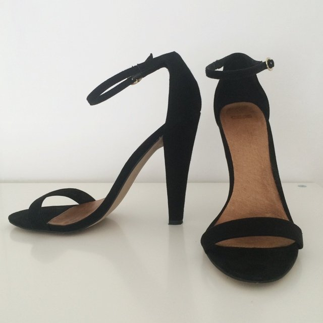 360881d4a5a Black Strappy Sandals  Black Strappy Heels Asos