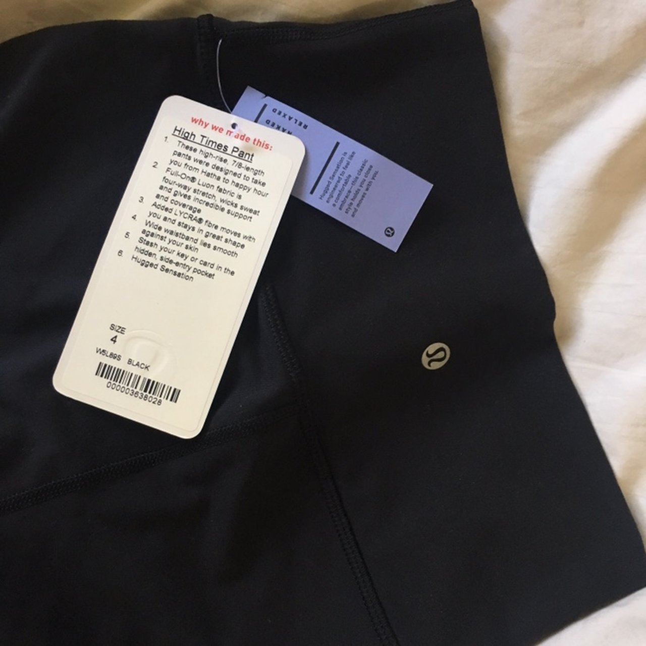 e3304ee848 selling another pair of PERFECT black Lululemon high-rise, & - Depop