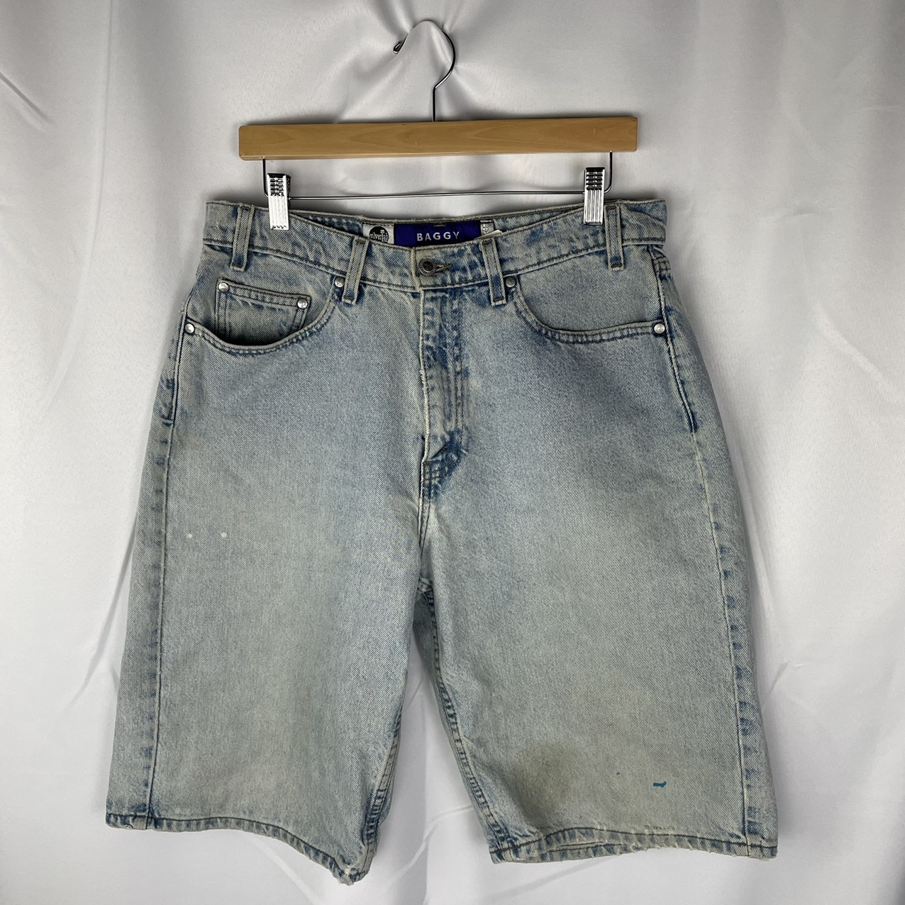 Product Image 1 - Vintage Baggy Silvertab Shorts  Labeled