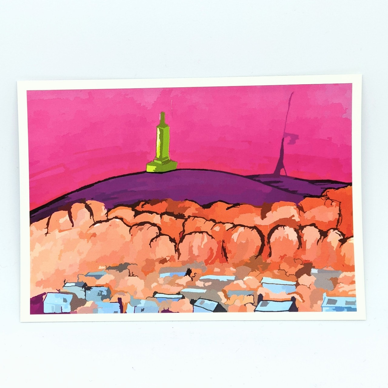 Product Image 1 - Dundee Law Postcard - art