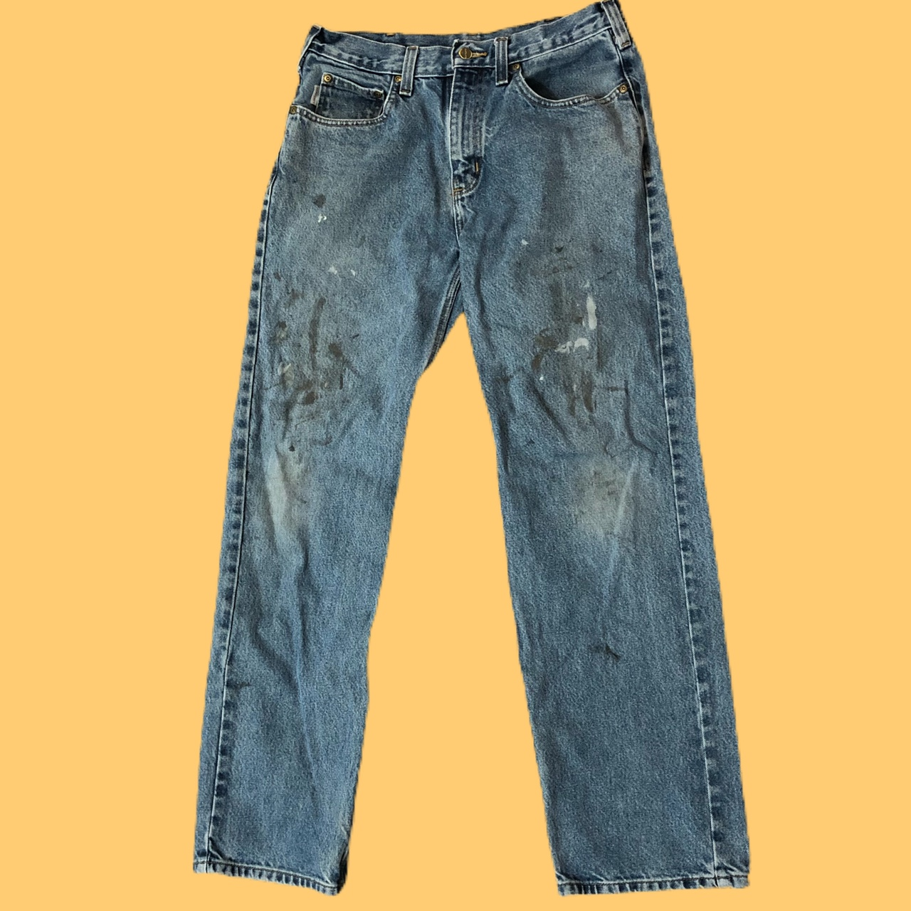 Product Image 1 - 🔥🚧CARHARTT JEANS🚧🔥 -Nice blue wash -Tagged 33x32