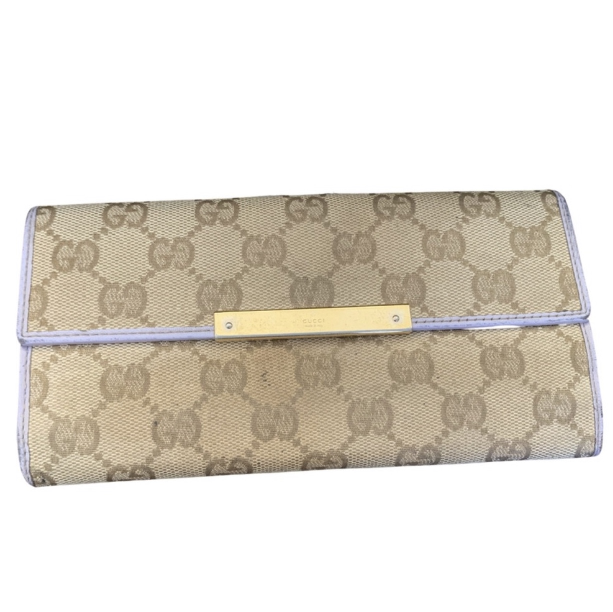 Product Image 1 - Authentic Gucci GG Purple Wallet.