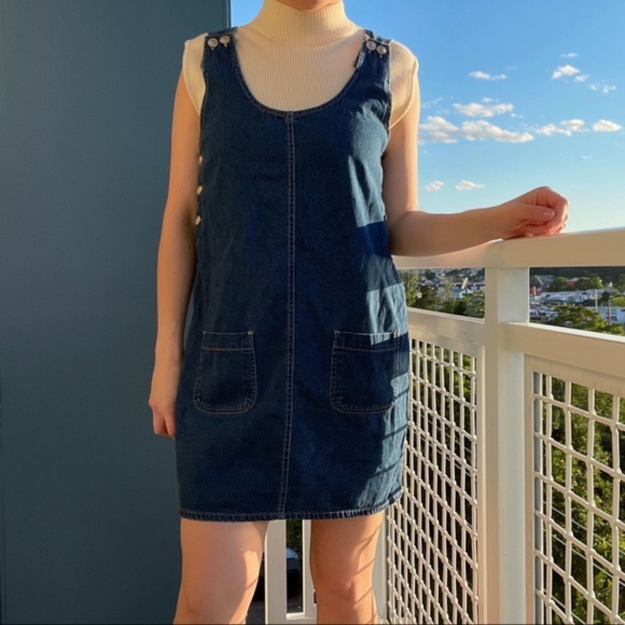 Product Image 1 - Vintage Denim Pinafore Dress coverall