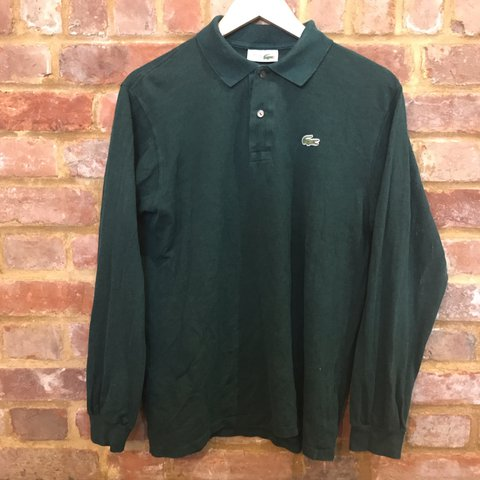 c01f67b0 @hen111. 4 days ago. Hailsham, United Kingdom. Vintage Lacoste Long Sleeve  Polo Shirt ...