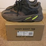 "e4287d6c Yeezy Boost 700 ""Mauve"" Size 7.5 worn 3 times so these can - Depop"