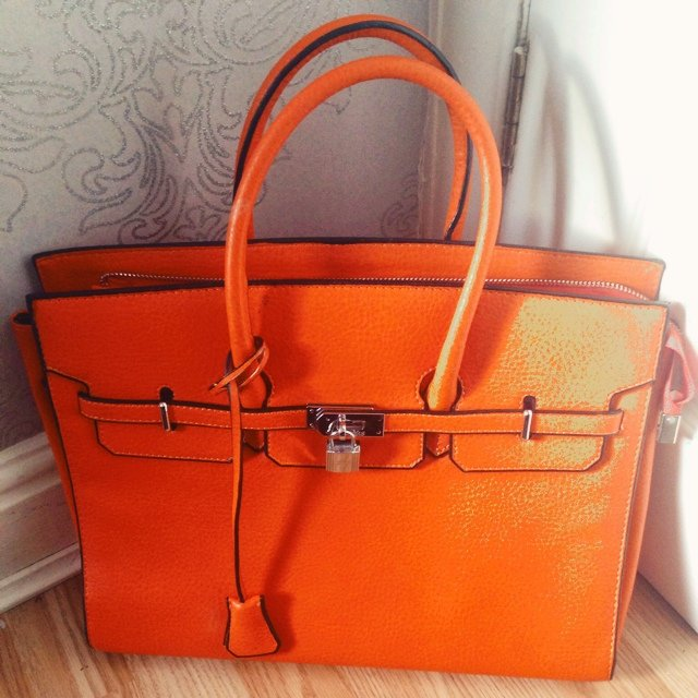 tan handbags - hermes birkin inspired bag