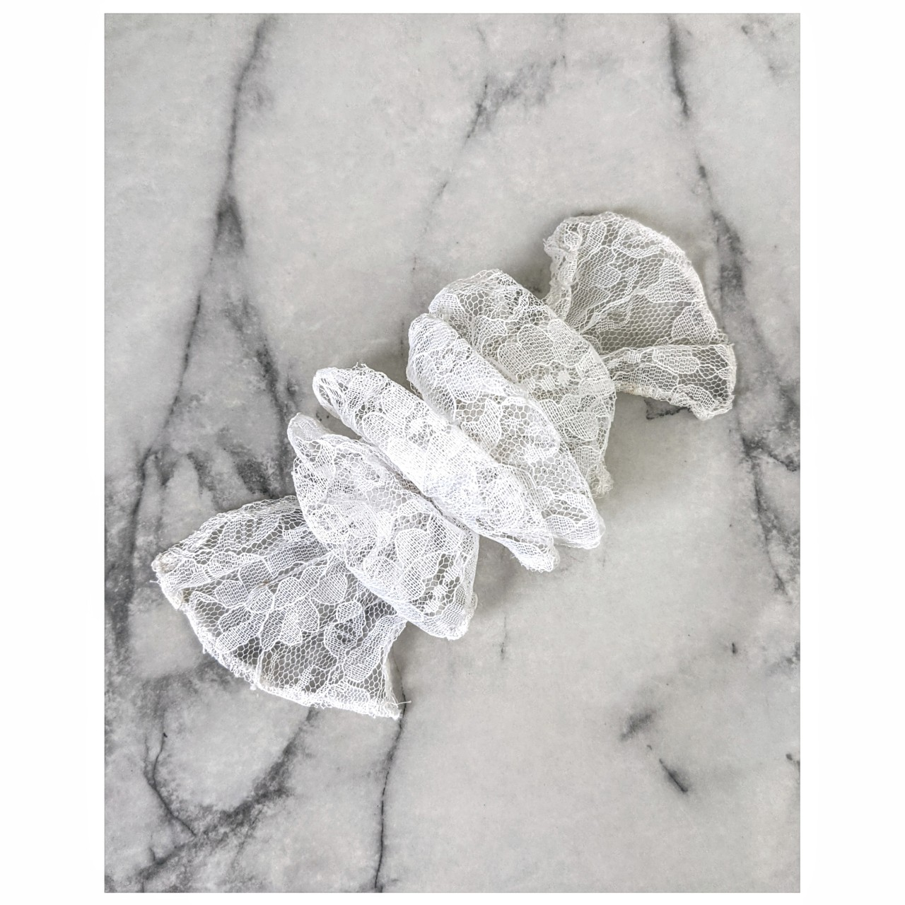 Product Image 1 - vintage 90's lace hair barrette  brand: