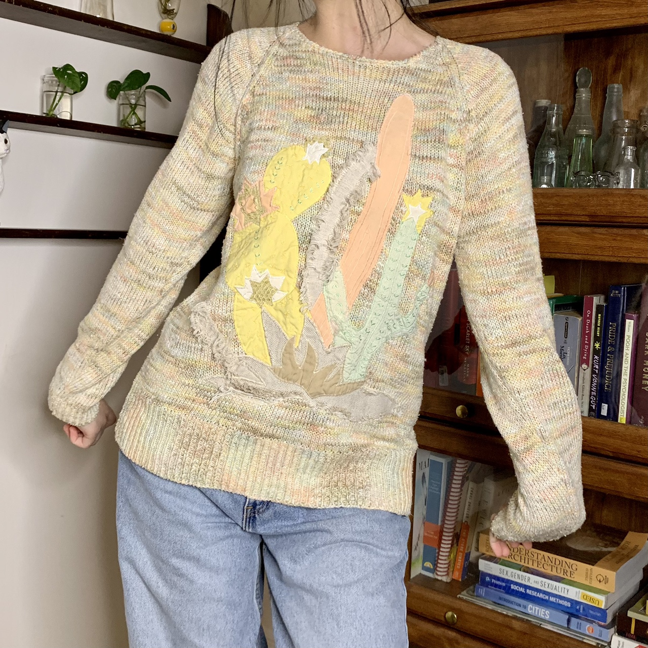 Product Image 1 - vintage pastel knit sweater with