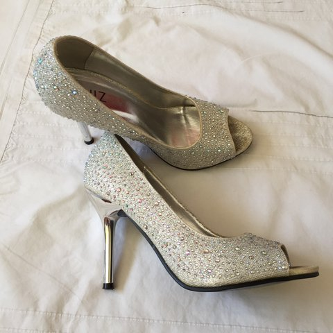 90f738e632f0 @poppyratcliffe. 29 days ago. Hatfield, United Kingdom. Super cute sparkly  silver heels,