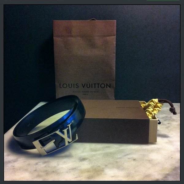 Cintura Louis Vuitton Nera