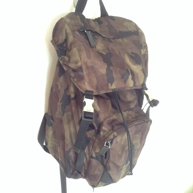 PRADA zaino camo backpack #prada #backpack ... | A S | Depop