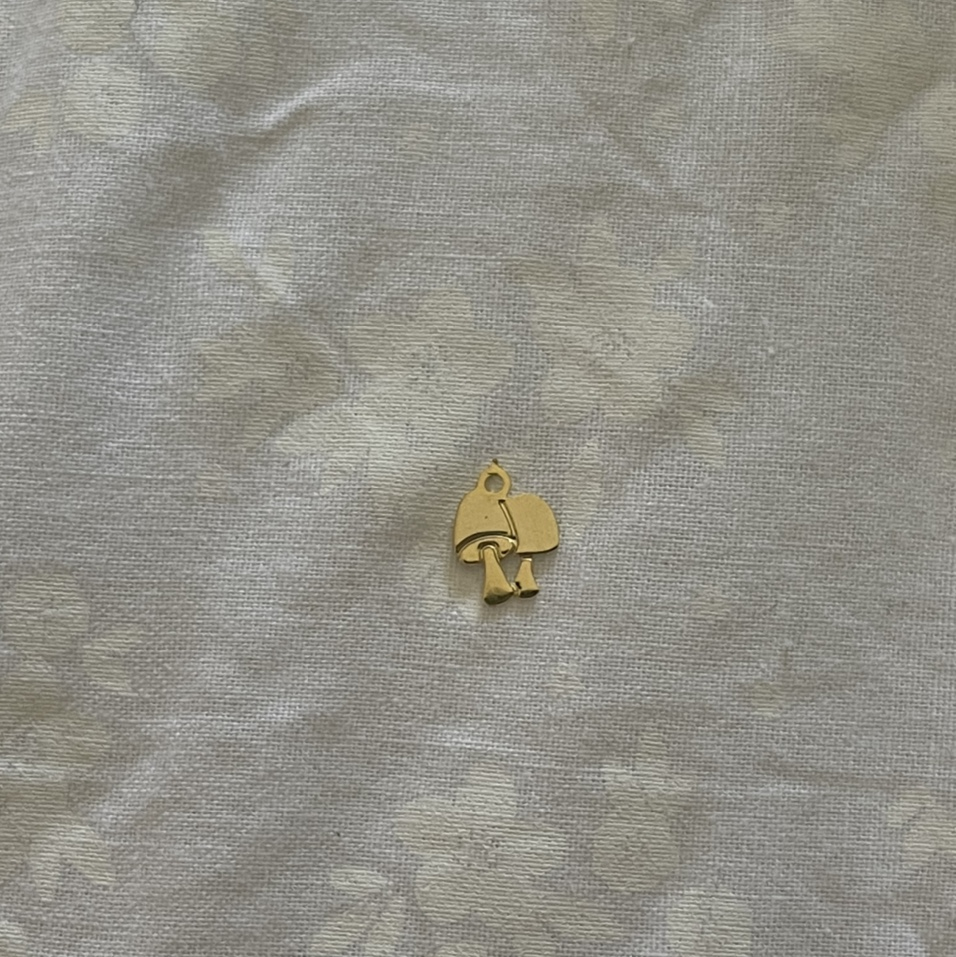 Product Image 1 - Vintage Gold Plated Double Mushroom