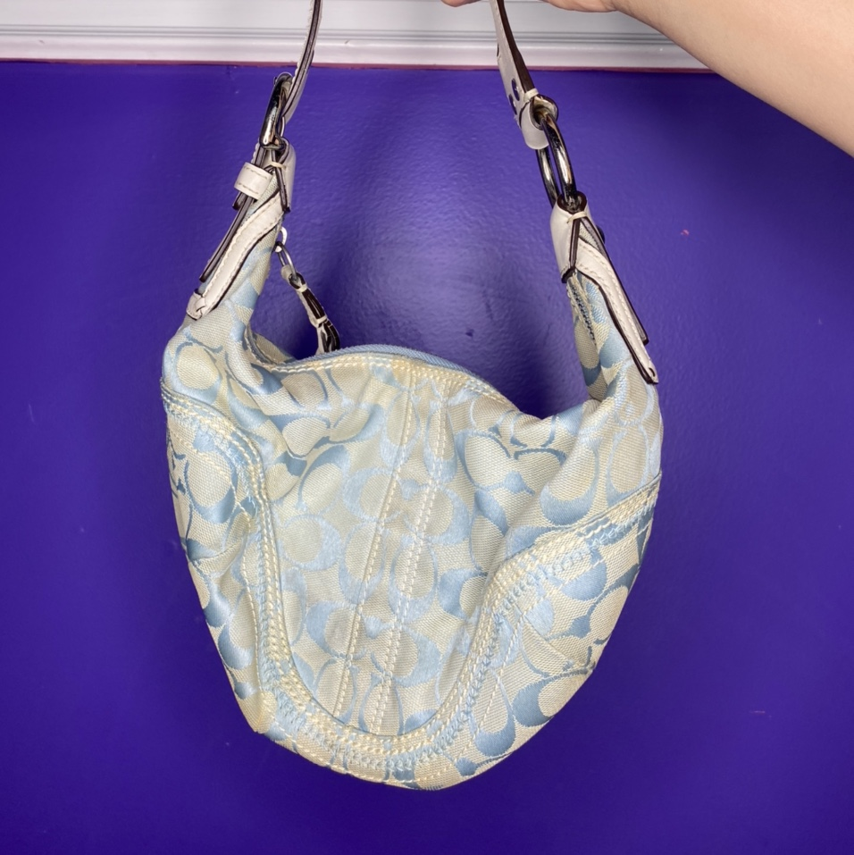 Product Image 1 - Pastel blue and white coach