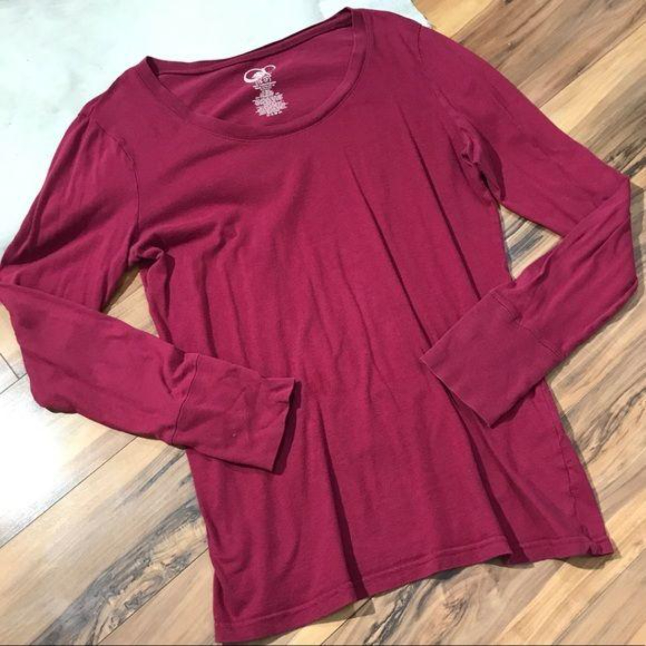 Product Image 1 - OP Top Burgundy Loose Fit