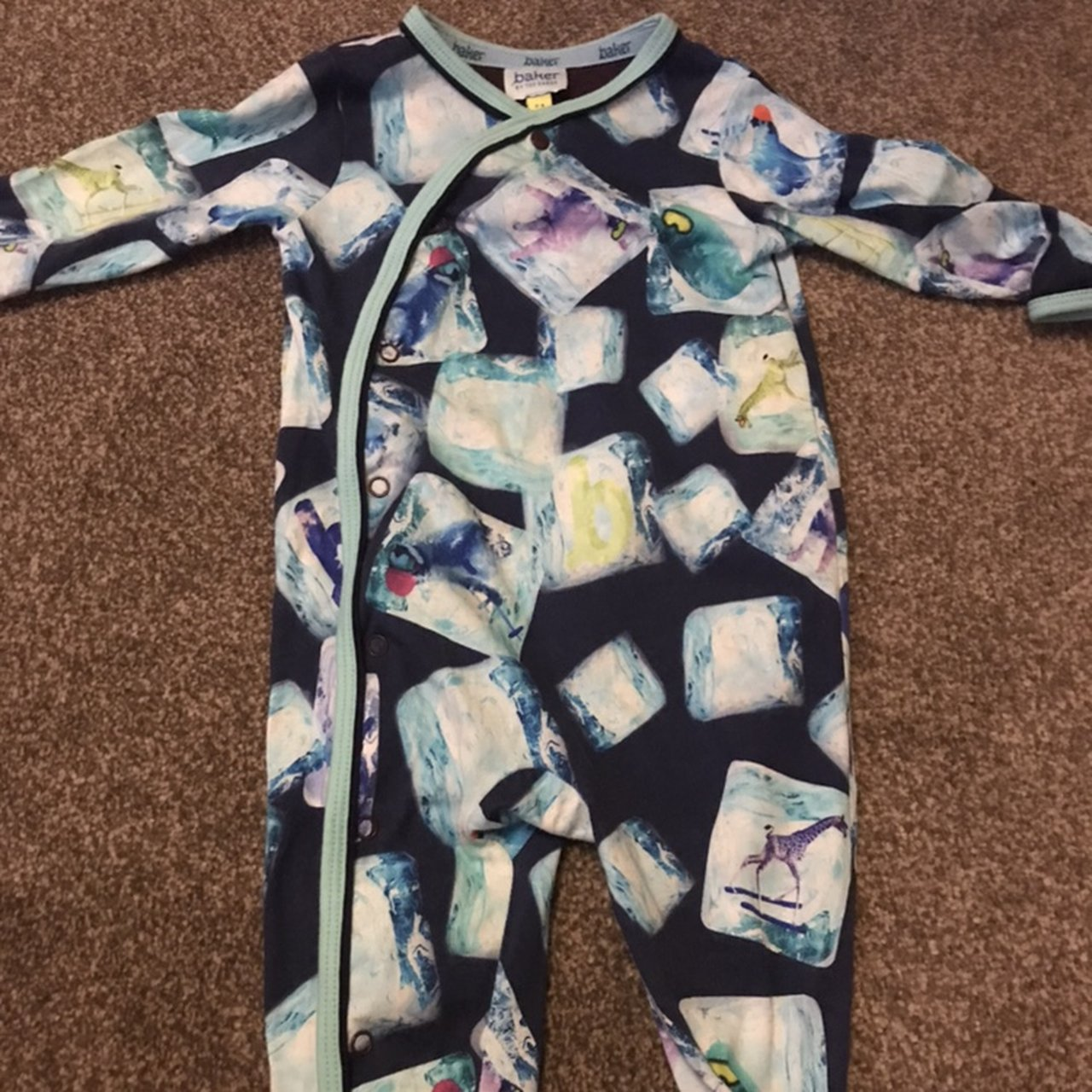 d964c0b58 Ted baker babygrow like new ⭐️Perfect condition ⭐️3-6 for - Depop