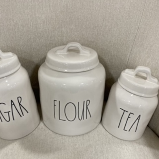 Product Image 1 - rae dunn 3 canisters