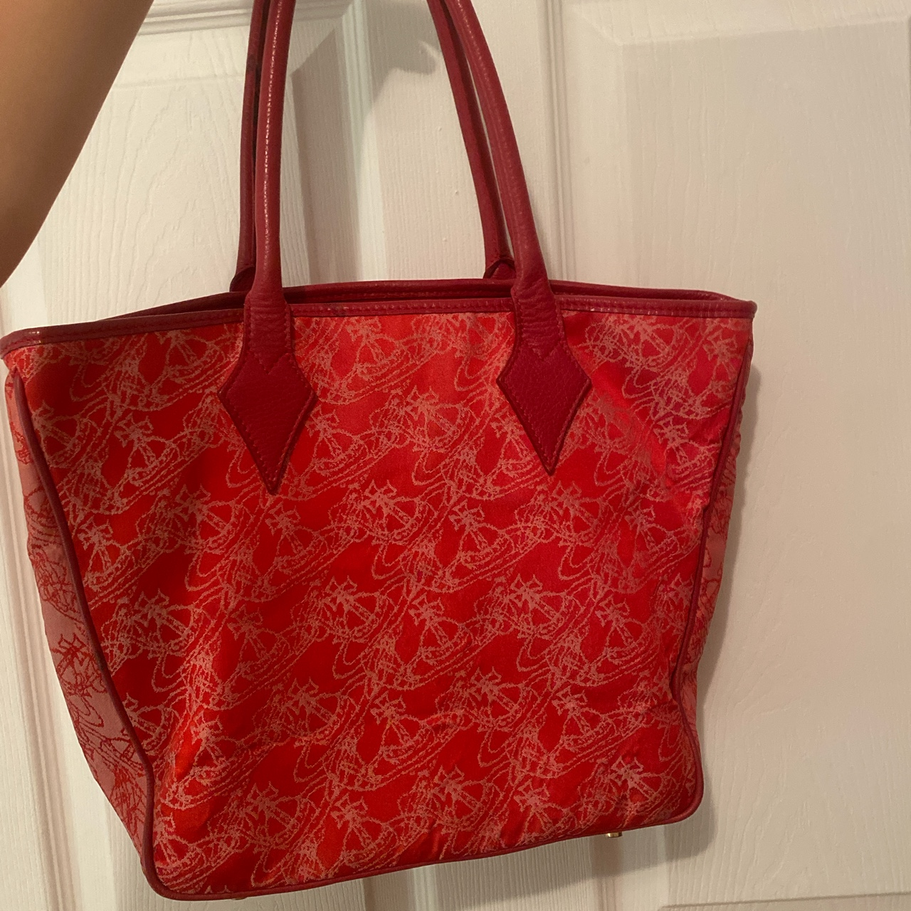 Product Image 1 - red vivienne westwood bag! condition