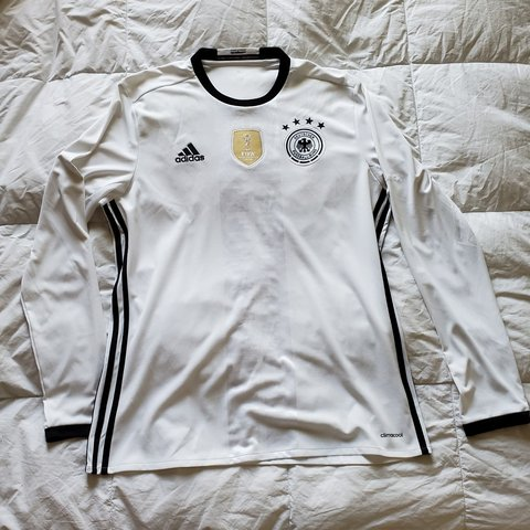 c4d75db67 @eman1050. last month. Chandler, Maricopa County, United States. Authentic  Adidas longsleeve Germany soccer Jersey.